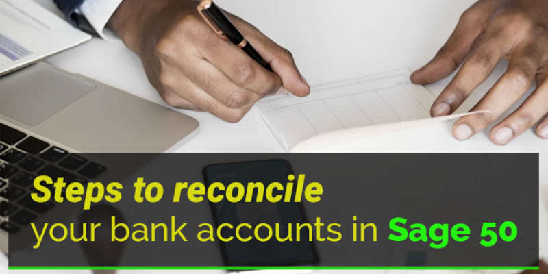 Bank Account in Sage 50